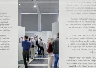 Eindrücke der Ausstellung Die immer Neue Altstadt