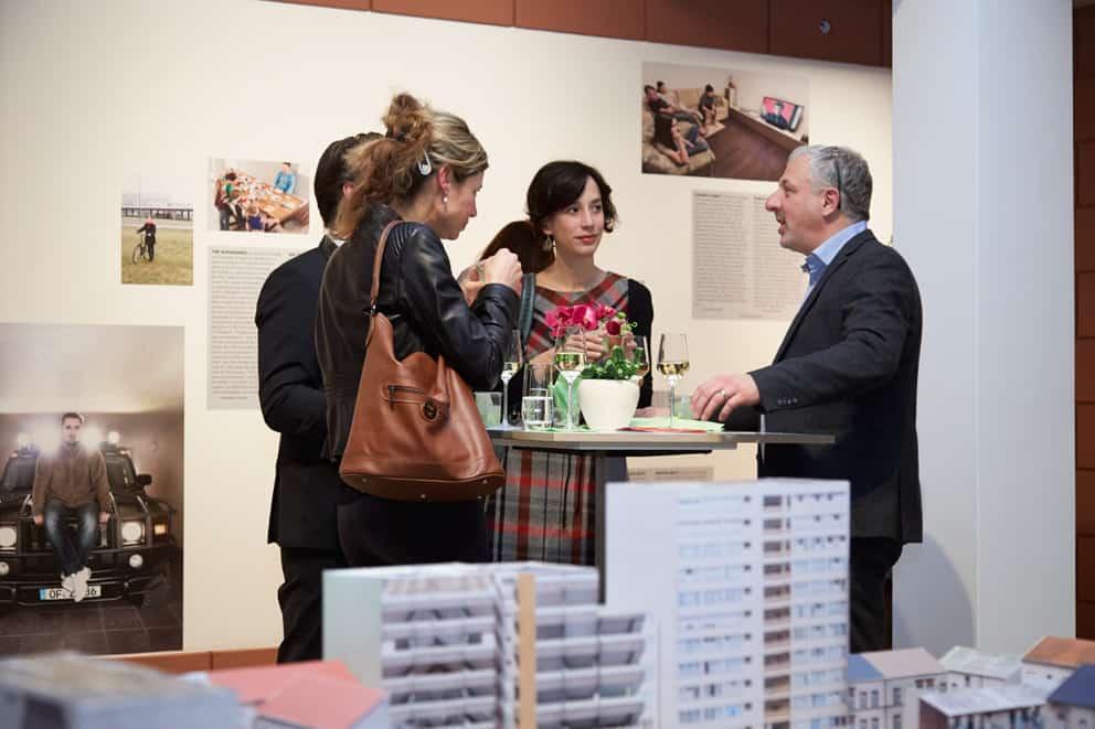 Preview zur Ausstellung Making Heimat \ Foto: Kirsten Bucher