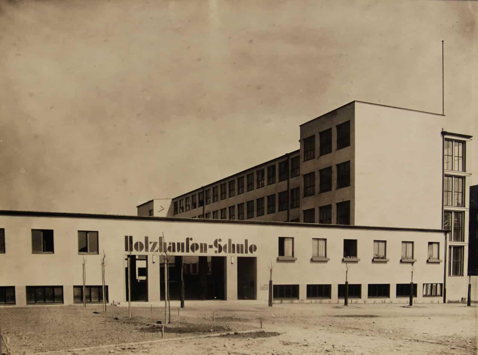 Holzhausenschule Frankfurt am Main \ © DAM, Nachlass Körte, 768-019-001