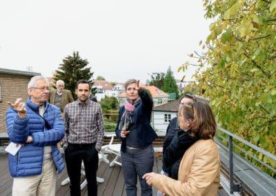 Freunde vor Ort: Elsaesser Haus \ Foto: Moritz Bernoully