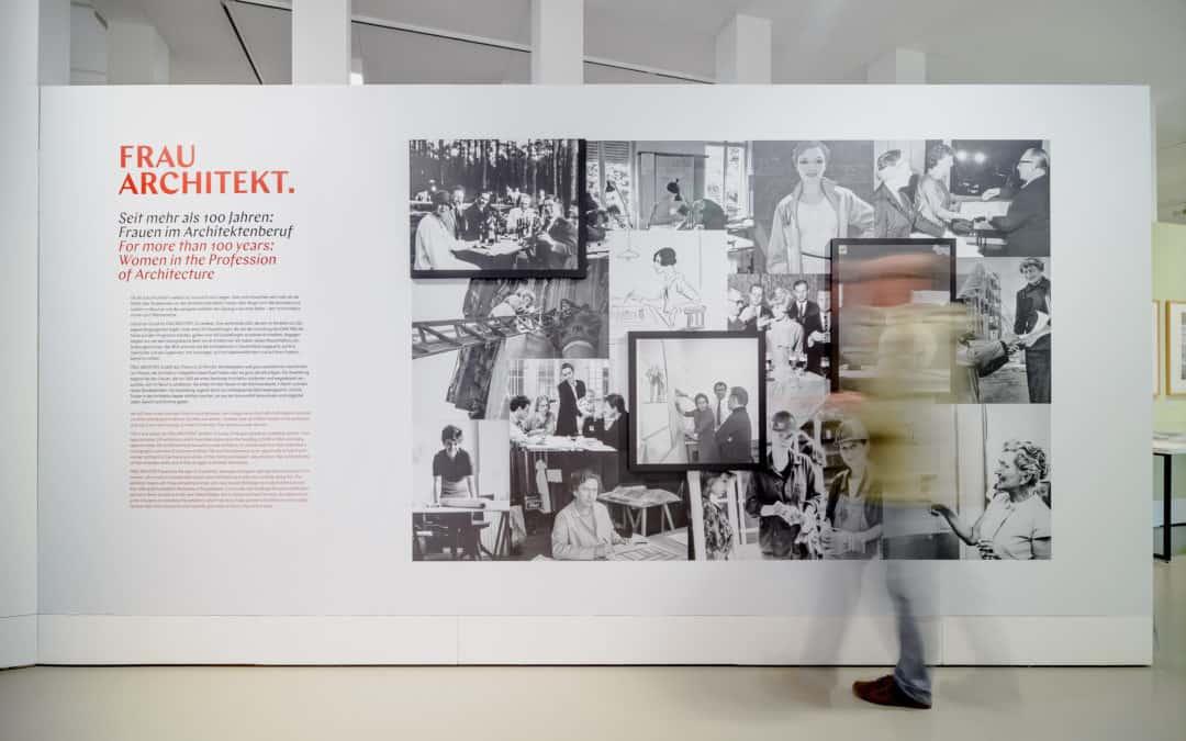 DAM On Tour in Athen: Frau Architekt – Seit mehr als 100 Jahren: Frauen im Architektenberuf