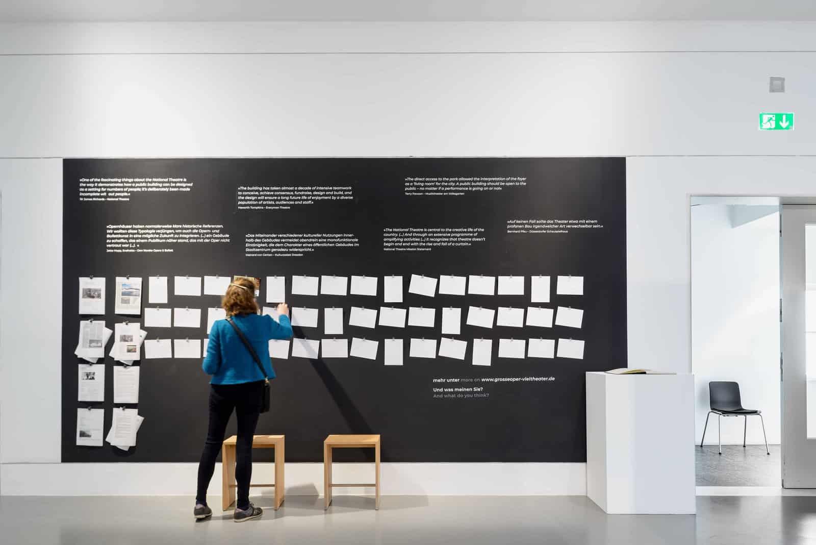 Eindrücke der Ausstellung GROSSE OPER – VIEL THEATER? \ Foto: Moritz Bernoully