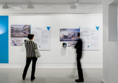 Eindrücke der Ausstellung Wohnen für alle