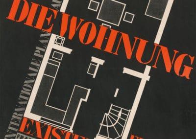 DAM_NeuerMensch_NeueWohnung_Pressebild_PlakatzurCIAM-Ausstellung1929