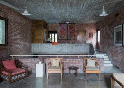 Architect's Home & Studio  Farmgate, Dhaka, Architect: Bashirul Haq & Associates