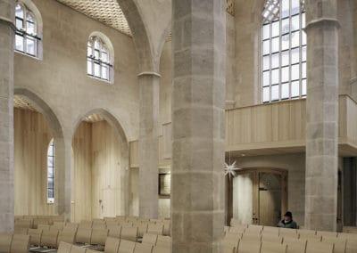DAM Preis 2020 Shortlist – Florian Nagler Architekten  Wiederaufbau St. Martha