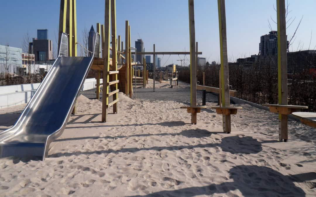 Radtour zu Spielplätzen in Frankfurter Stadtquartieren und Parks