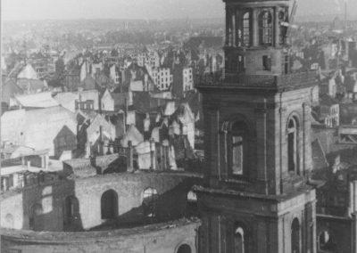 Ausgebrannte Paulskirche, 1946