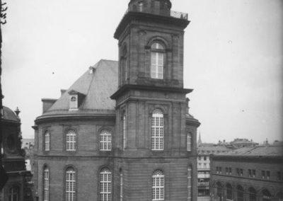 Historische Paulskirche mit Steildach, 1925
