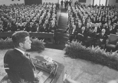 John F. Kennedy, Rede in der Paulskirche anlässlich seines Deutschlandbesuchs, 25. Juni 1963