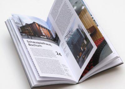 Architektur der 1950er bis 1970er Jahre im Ruhrgebiet. Als die Zukunft gebaut wurde