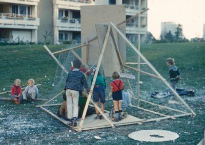 Pädagogische Aktion, Spielaktion München-Neuperlach, 1971
