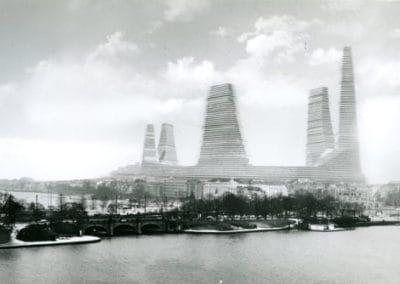 Alsterzentrum Hamburg (Projekt), ab 1965 Hans Konwiarz, Neue Heimat Nord