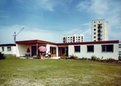 Eigenheime Frankfurt Nordweststadt, 1961-1972  Hans Kampffmeyer d. J, Walter Schwagenscheidt, Tassilo Sittmann
