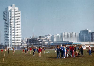 Kiel Mettenhof, 1964–1972 Hans Konwiarz, Neue Heimat Hamburg und Neue Heimat Kiel