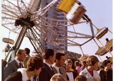 Neue Vahr Bremen, 1957-1962  Max Säume, Günter Hafemann, Ernst May, Hans Bernhard Reichow, Alvar Aalto, Wolfgang Bilau, Hans Albrecht Schilling (Farbgestaltung); Karl-August Orf (Landschaftsarchitektur)