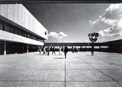 Verwaltungssitz der Neuen Heimat Bayern, München Neuperlach; 1965–1971 Hans Maurer und Horst Mauder