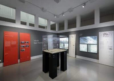 """Eindrücke der Ausstellung """"Interim Oper Frankfurt"""""""
