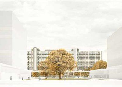 Wettbewerb Campus Bundesbank, Frankfurt 1. Preis