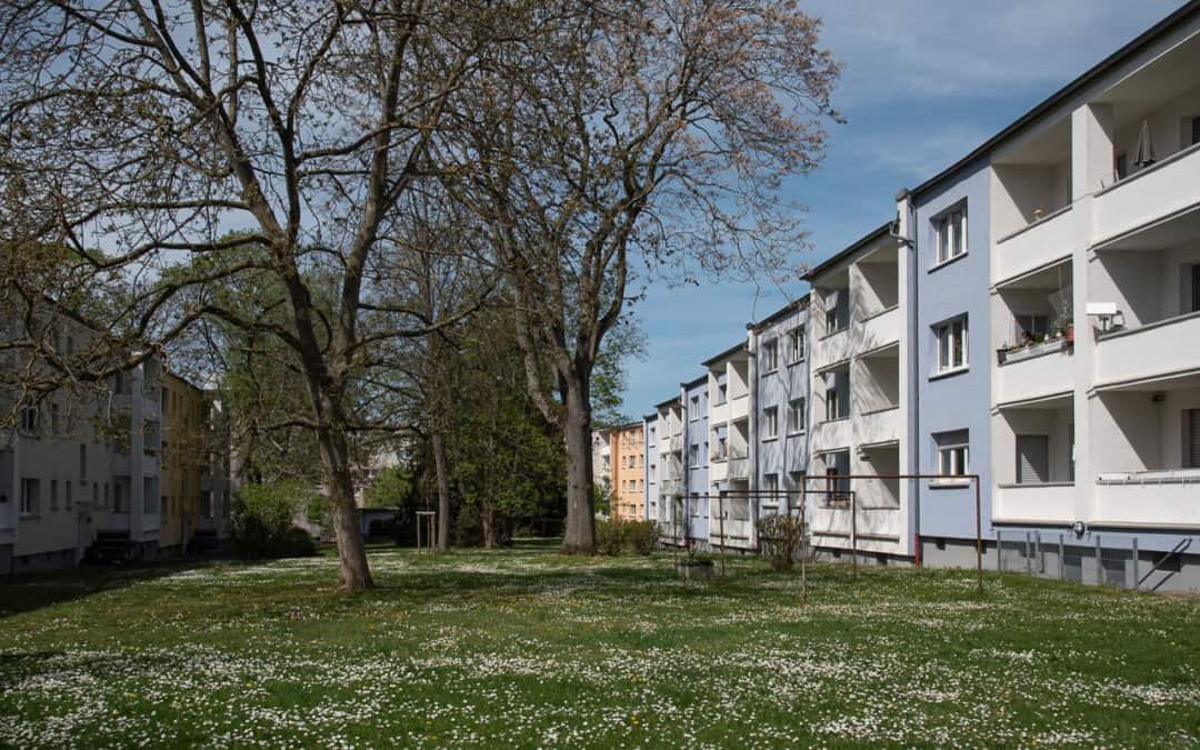 Radtour: Siedungen und Projekte aus der Neuen Heimat im Frankfurter Westen