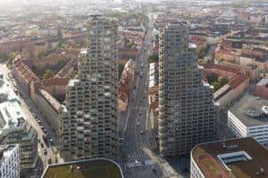 Wohnhochhaus 'Norra Tornen' in Stockholm gewinnt  Internationalen Hochhaus Preis 2020
