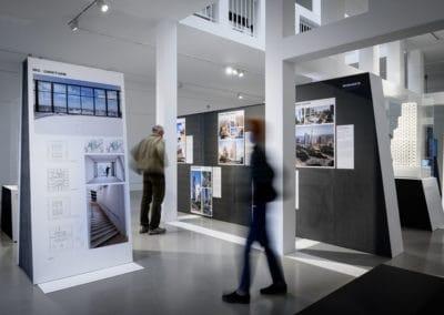 Ausstellung International Highrise Award 2020 © Moritz Bernoully
