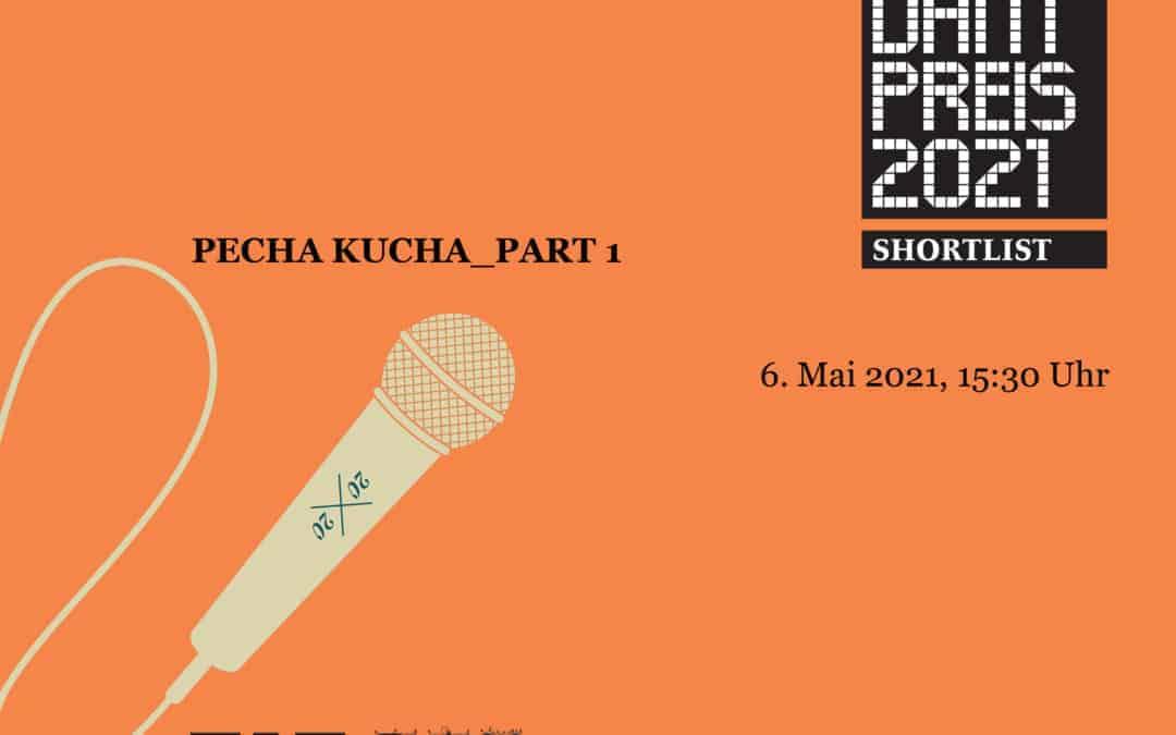 JUNG Lectures. DAM Preis 2021: Pecha Kucha_Part 1