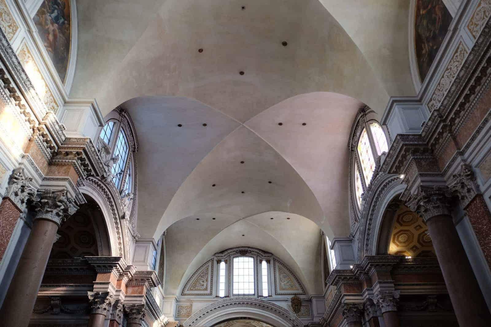 Gewölbe des Frigidariums der Diokletiansthermen I © Matthias Quast