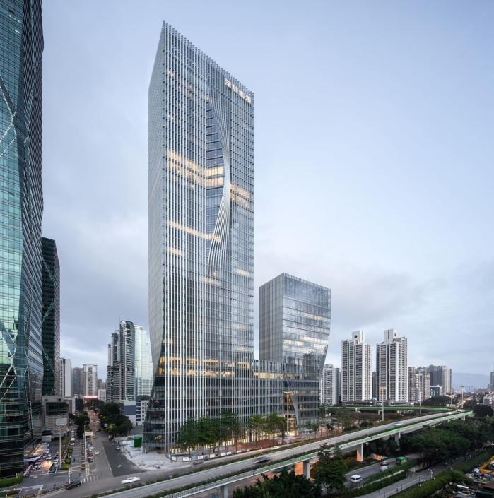 BIG - Bjarke Ingels Group, Kopenhagen, Dänemark: Shenzhen Energy Headquarters, Shenzhen, China