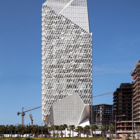 Morphosis Architects, Culver City, CA, USA, : Casablanca Finance City Tower, Casablanca, Marokko