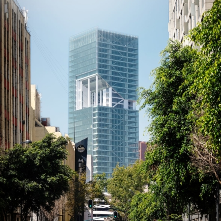 Richard Meier & Partners Architects, New York City, New York: Torres Cuarzo, Mexiko-Stadt, Mexiko