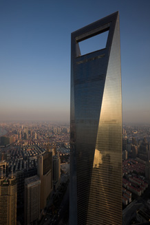 Shanghai World Financial Center, Foto: © Shinkenchiku